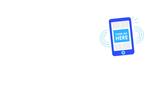 mobile display ad banner placement